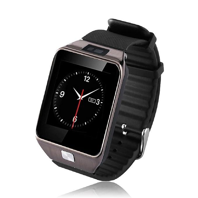E821 V8 Smart Watch Pulsera Smartphone Reloj Inteligente por Bluetooth 4.0,1.54
