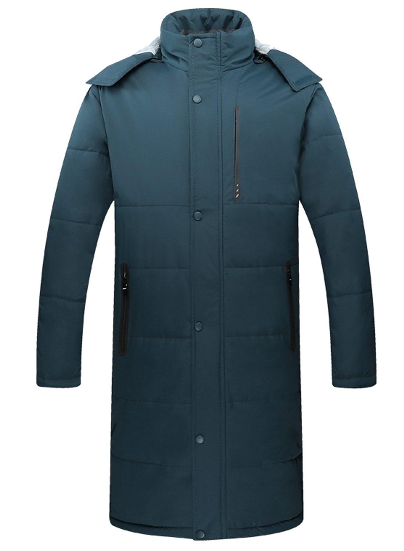 Yifun Outdoor OUTERWEAR メンズ B076WXFKHP S ブルー ブルー S