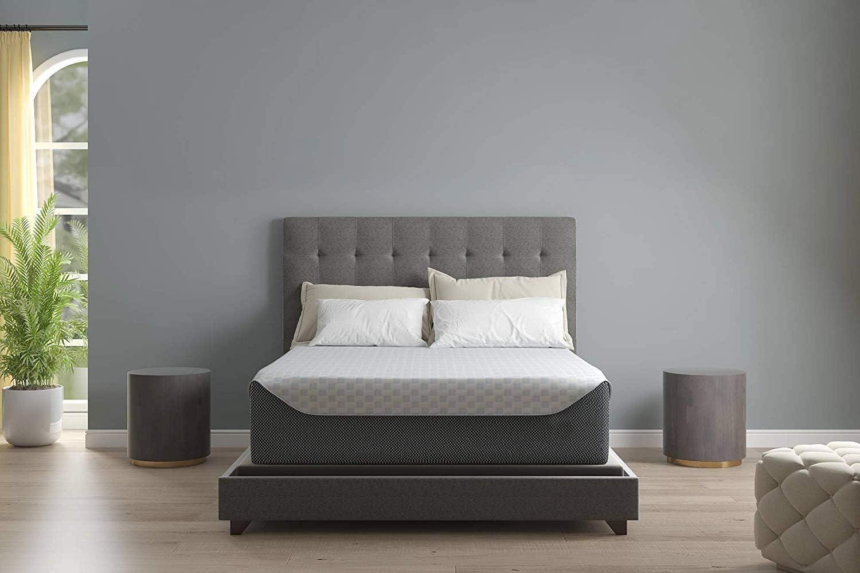 Ashley Furniture Signature Design - 14 Inch Chime Elite Mattress - Bed in a Box - Queen Size - White