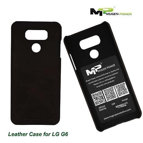 new product 60f1a c0edc LG G6 Leather Case, Mugen Power Luxury Premium: Amazon.co.uk ...