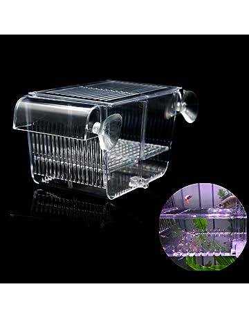 Arcylic Betta Guppy Baby Small Fish Separation Fish Bow Aquarium Breeding Box Fish & Aquariums