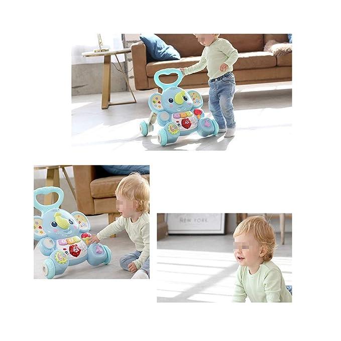La movilidad del niño Walker Música Walker Cochecito for el bebé ...