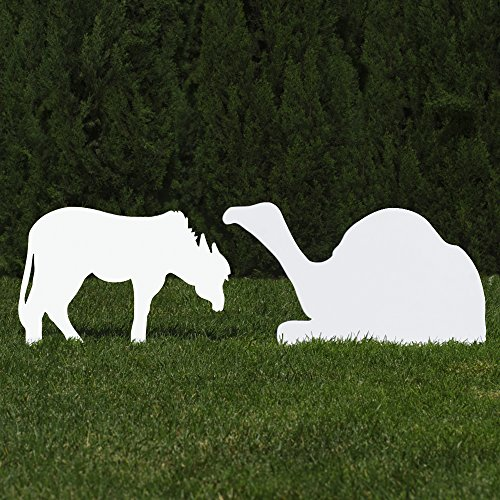 Donkey Nativity Figure - 8
