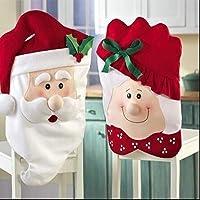 غطاء كرسي بتصميم السيد والسيدة سانتا كلوز