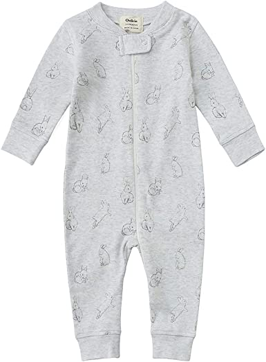 I Am Up to No Good Baby Unisex Long Sleeve One-Piece Buttons Footless Sleepwear Cotton Sleep and Play Jumpsuit Pajamas