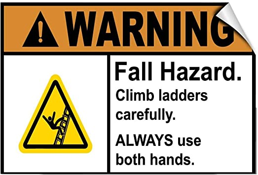 Advertencia: Escalera para Escalada de Peligro de caída ...