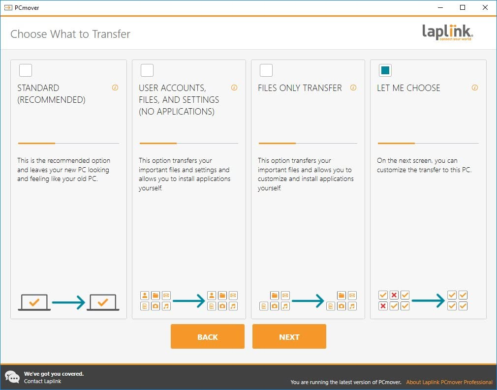 Laplink PCmover Professional Activation Key New Download Version Fast Shipping