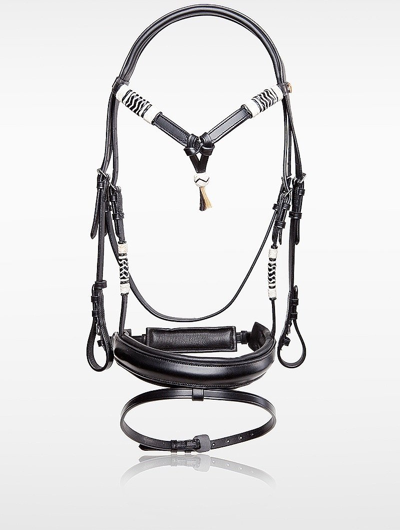 Horsecode Trense Black Dschjango WB