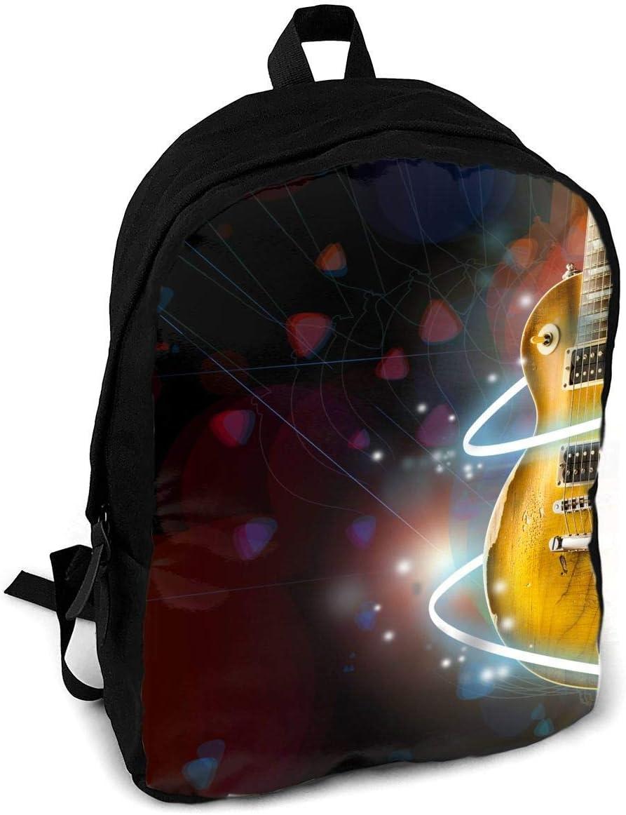 Genial Guitarra Música Moda Impresión Mochila para Adultos Viajes ...