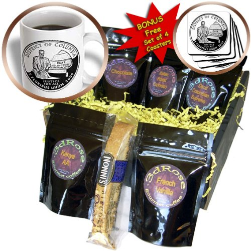 Sandy Mertens Washington, DC - District of Columbia Quarter (PD-US) - Coffee Gift Baskets - Coffee Gift Basket (cgb_55350_1)