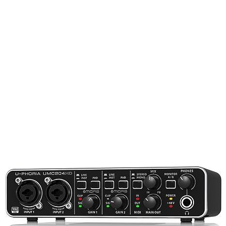 Behringer UMC204HD - U-phoria interface de audio/midi usb ...