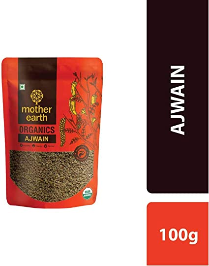 MOTHER EARTH AJWAIN/Carrom Seeds 100 GM