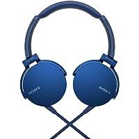 Sony MDRXB550AP/B XB550AP Extra Bass Headphones - Blue