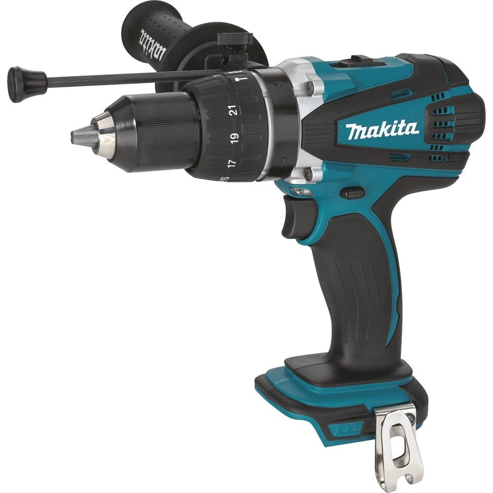 Makita XPH03Z 18V LXT Lithium-Ion Cordless 1/2'' Hammer Driver-Drill, Tool Only by Makita