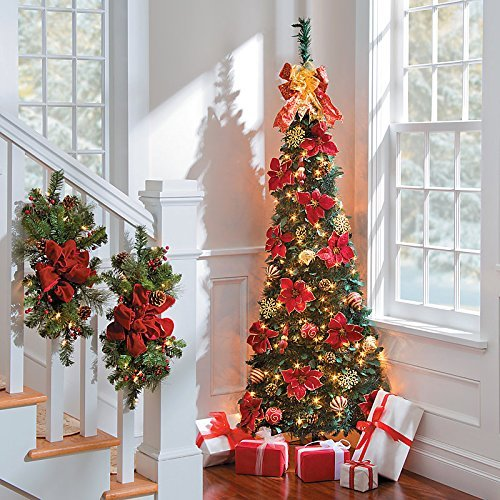 Corner Pull-Up Christmas Tree - Versailles by Improvements
