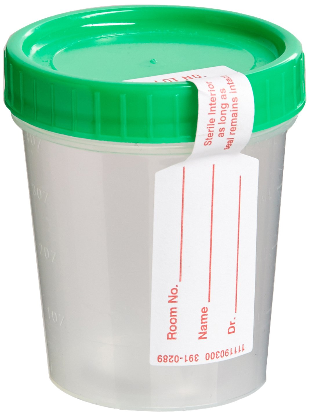Covidien 8889207067 Cap, Integrity Seal, Sterile, Green (Pack of 100)