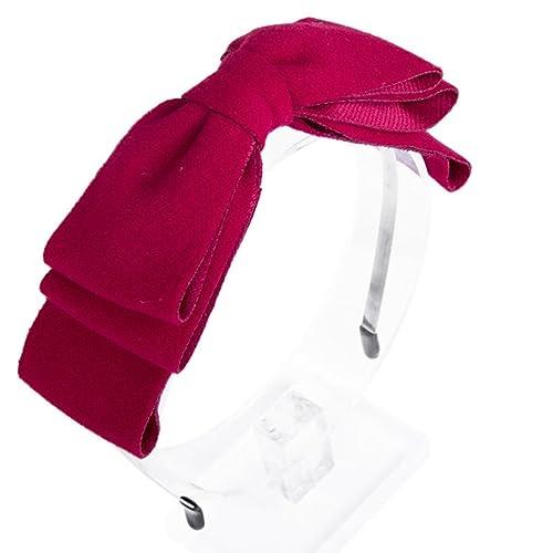 Lazo del pelo de la venda de la cinta del Grosgrain - Headwear elegante del arco de la capa de AWAYT...