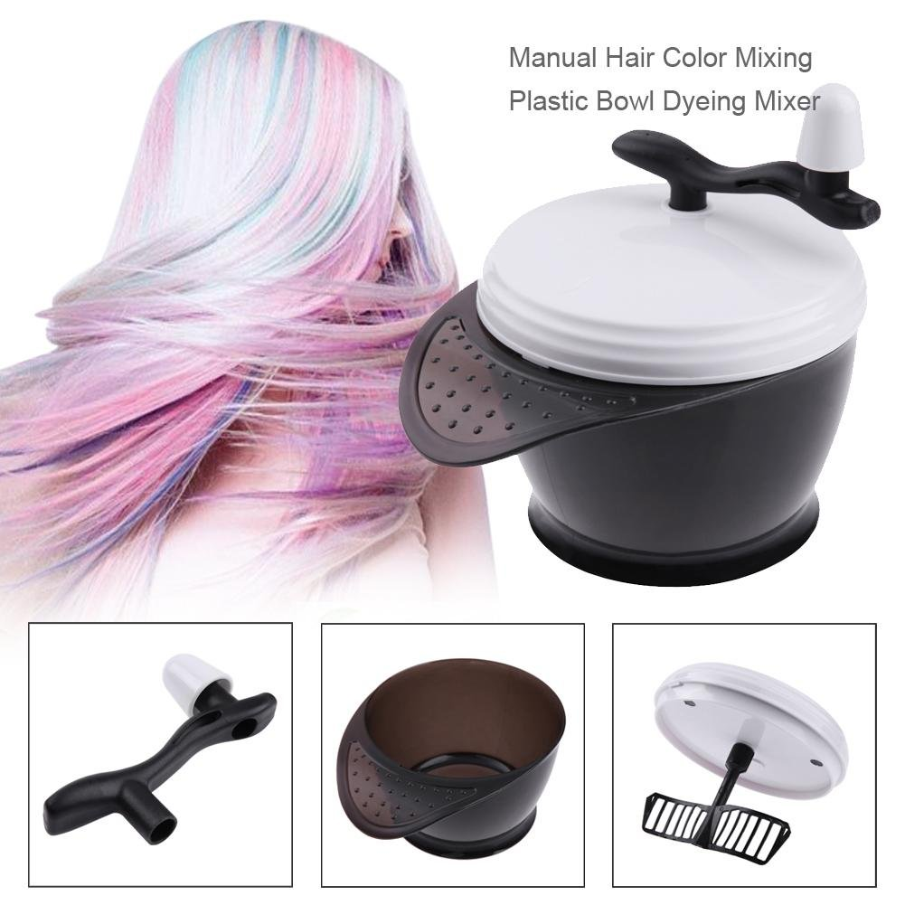 Amazon Jocestyle Manual Hair Color Mixing Plastic Bowl Dyeing