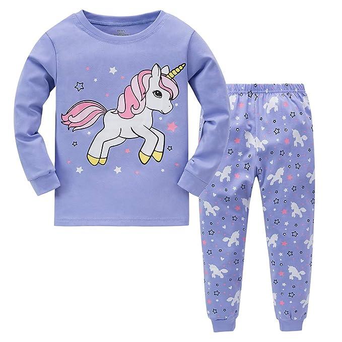 große Vielfalt Stile Entdecken dauerhafte Modellierung Garsumiss Mädchen Schlafanzug Giraffe Baumwolle Kinder Langarm Pyjama 98  104 110 116 122 128 134 140 146