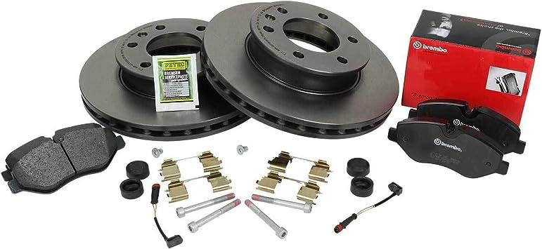 BREMBO Bremsbel/äge Bremsbelagsatz Set vorne Vorderachse Original BREMBO Bremsscheiben