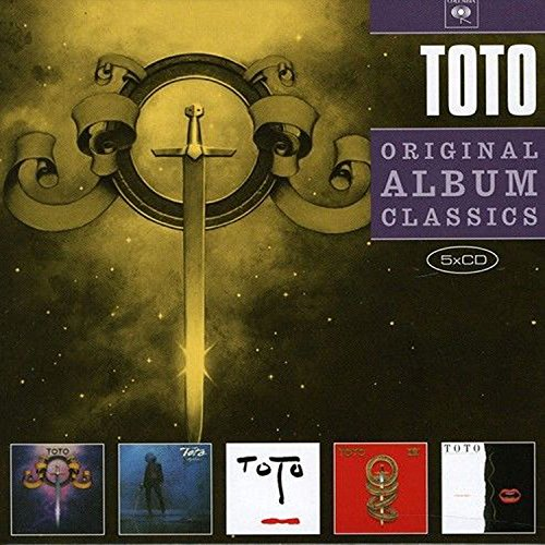 5cd Original Album Classics (Toto/Hy Dra/Turn Back/Toto Iv/Isolation)
