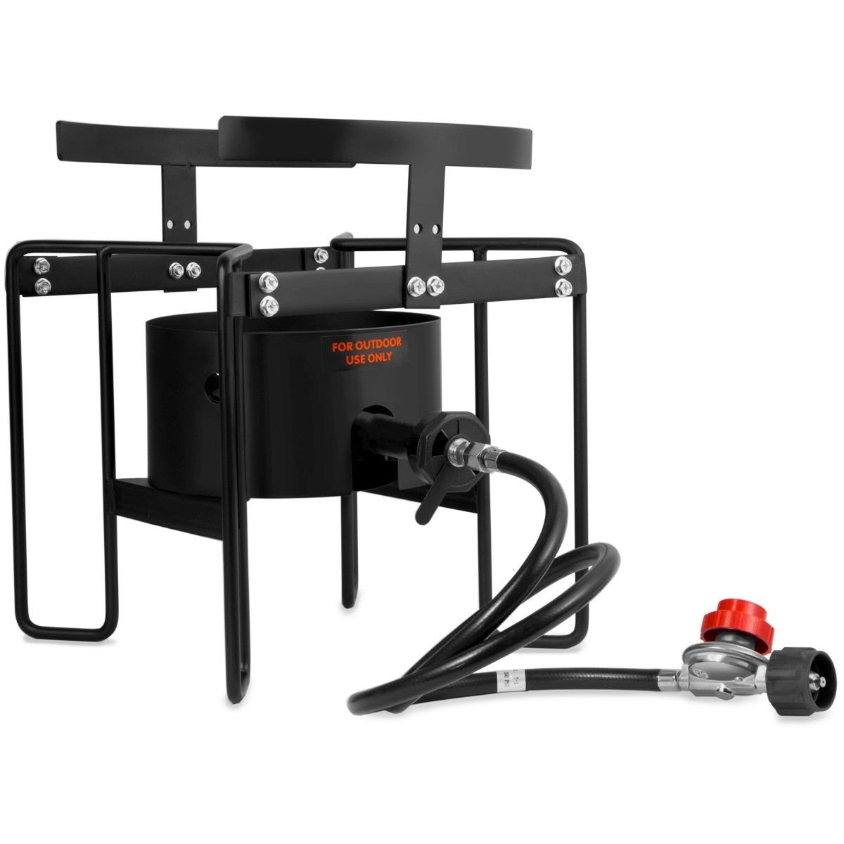 KCHEX>20psi Turkey Fryer Stand Gas Propane Stove Single Burner Outdoor Cooking Camping>Outdoor Portable high Pressure Stove is Ideal for Providing Cooking Solution for You and Your Family.