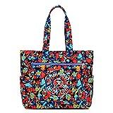 Fabchic Woman Nylon Simple Handbag Tote Bag Leisure Shopping Bag
