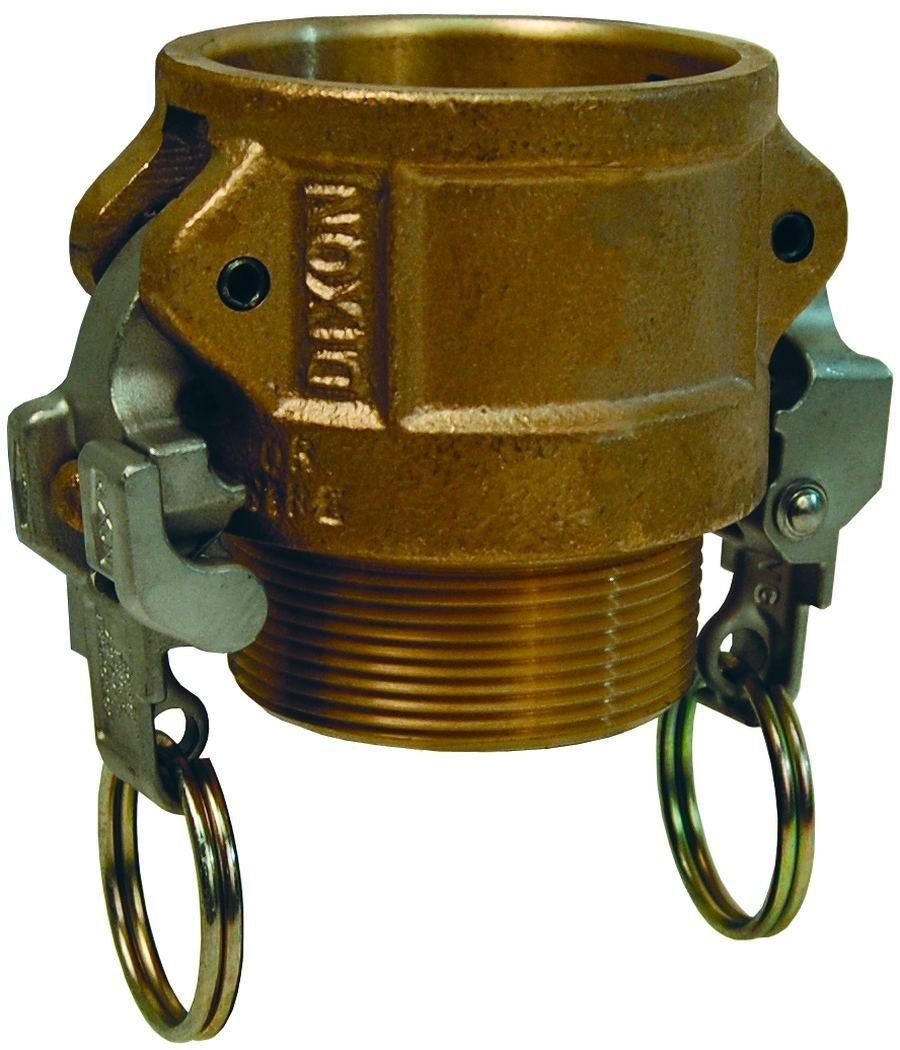 Dixon valve bb ez brass boss lock type b cam and