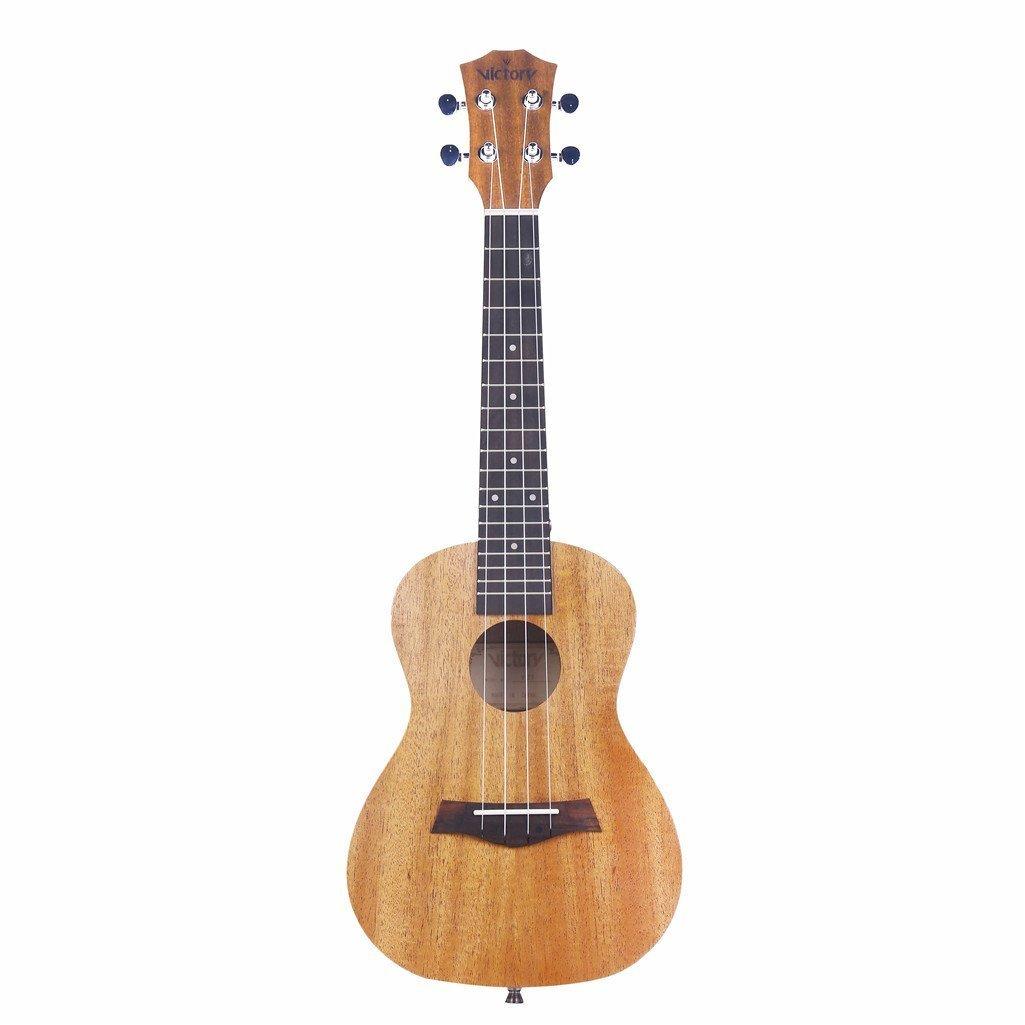 Ukulele Concierto De 23 Pulgadas Cuerdas Aquila De Caoba Kit Principiante: Bolsa + Correas + Afinador + Selecciones - Color Natural: Amazon.es: Instrumentos ...