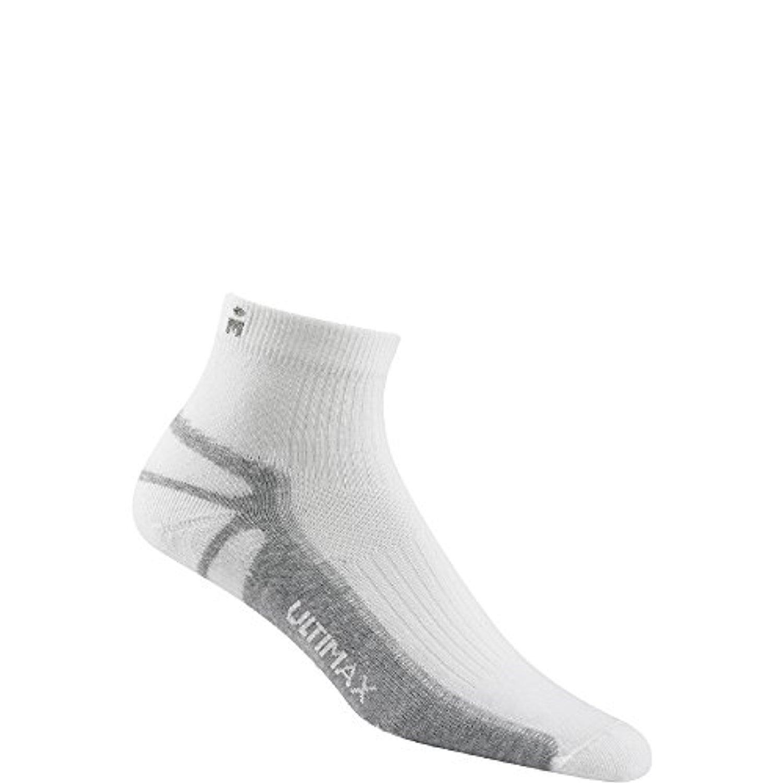 e54922f351da Wigwam Ironman Thunder Pro Quarter Socks White MS 2-PACK: Amazon.in:  Clothing & Accessories