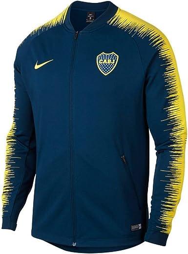 Absurdo Manifiesto Investigación  Amazon.com: Nike 2018-2019 - Chaqueta oficial de Boca Juniors CABJ Anthem,  M: Clothing