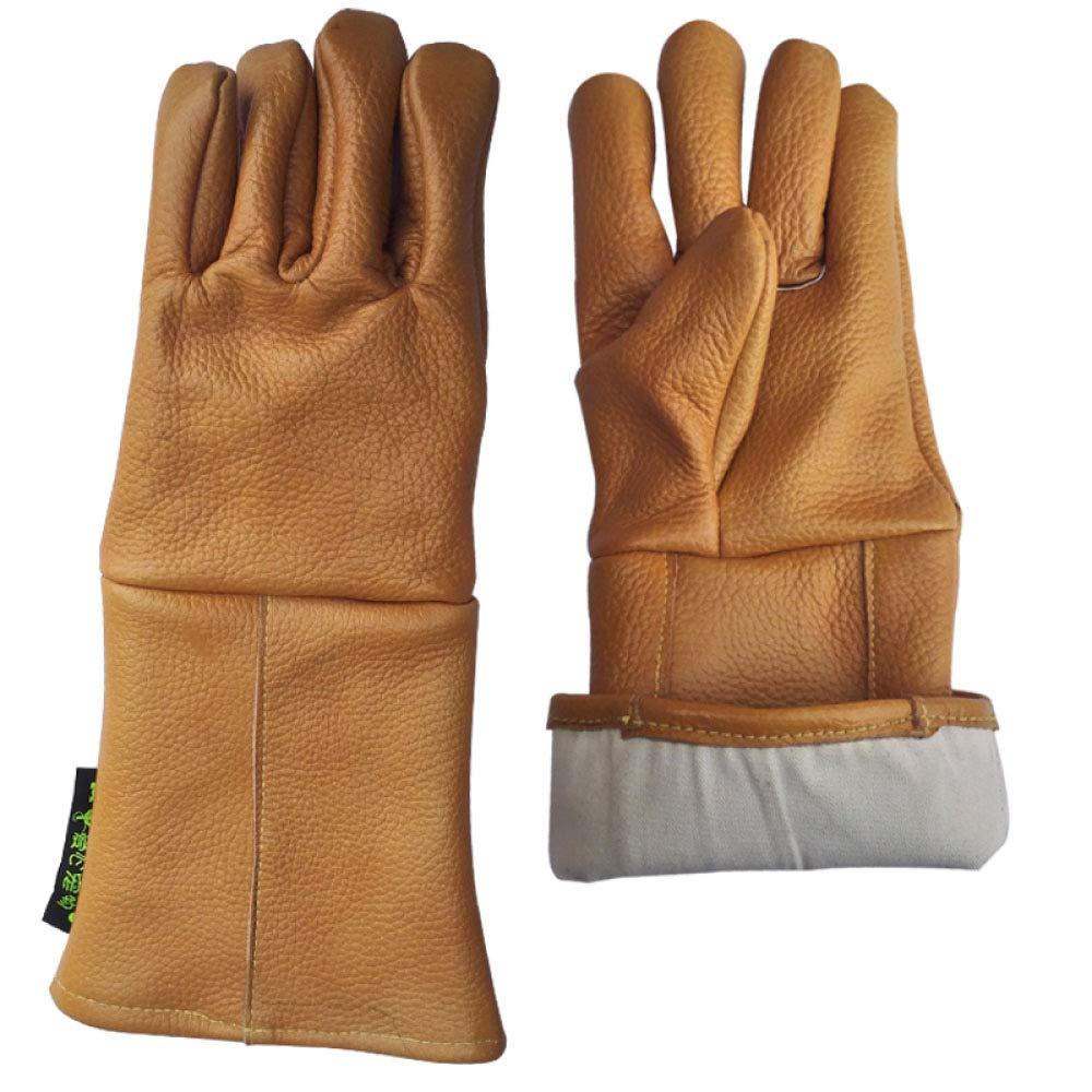 KYCD Cattura Ispessimento del Lavoro Guanti protettivi, arancia-XL, X-Large, Arancione
