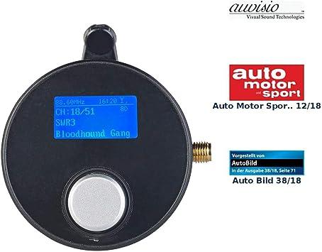 Auvisio Dab Autoradio Dab Dab Empfänger Mit Fm Transmitter Aux Audioausgang Für Kfz Hifi Adapter Dab Auto