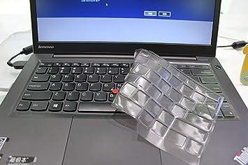 Leze - Ultra Thin Soft Keyboard Protector Skin Cover for Lenovo ThinkPad X1 Carbon 2017(5th Gen),ThinkPad X1 Yoga 2017 Gen,ThinkPad T470 T470p T470s ...