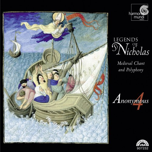 Cover of Legends of St. Nicholas: Medieval Chant and Polyphony