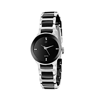 ab8ae135f80 Buy Capture fashion Style Keepers Black Stainless Steel Chain Analogue  Silver Dial Men s Watch Online at Low Prices in India - Amazon.in