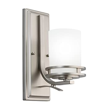 Superior Kichler 5076NI One Light Wall Sconce