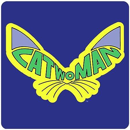 Catwoman Logo Coaster Official DC Comics Batman