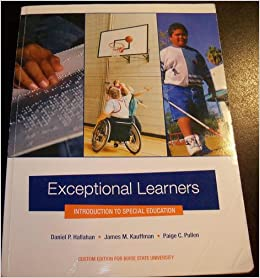Exceptional learners an introduction to special education 12th edition pdf
