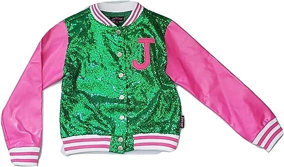 Bomber Jacket JoJo Siwa Big Girls Mix and Match Pink 7//8