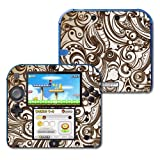 #5: MightySkins Protective Vinyl Skin Decal Cover for Nintendo 2DS wrap sticker skins Vintage Swirls