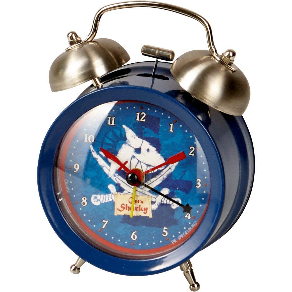 Alarm Clock Kids Capt'n Sharky Blue Die Spiegelburg