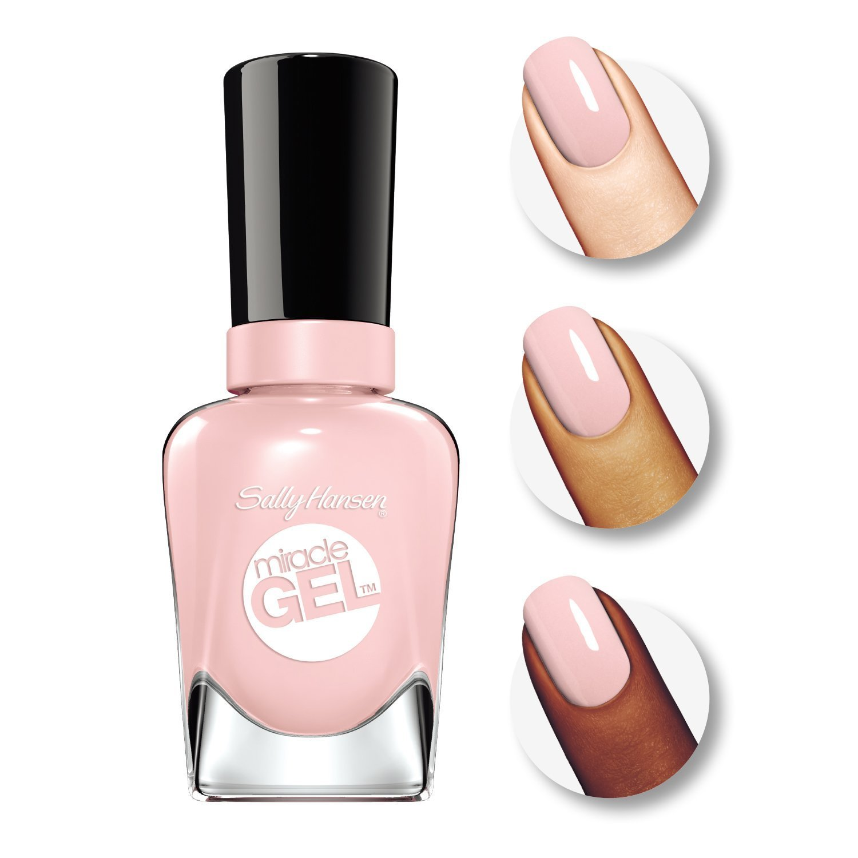 Sally Hansen Milagro Gel Esmalte de uñas - Pink Promise 160 + ...