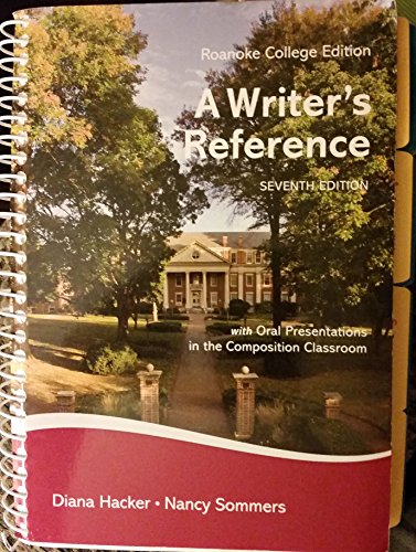 Roanoke College a Writers Reference Seventh - Roanoke Kids