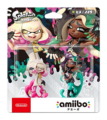 Nintendo Amiibo Pearl   Marina 2 Pack Set  Splatoon Series  Japan Ver