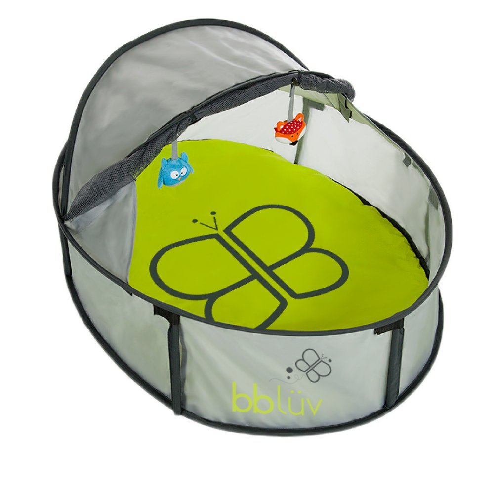 bblüv - Nidö Mini - Compact 2-in-1 Travel & Play Tent - Fun Tent with UV protection for Infants and Toddlers B0103