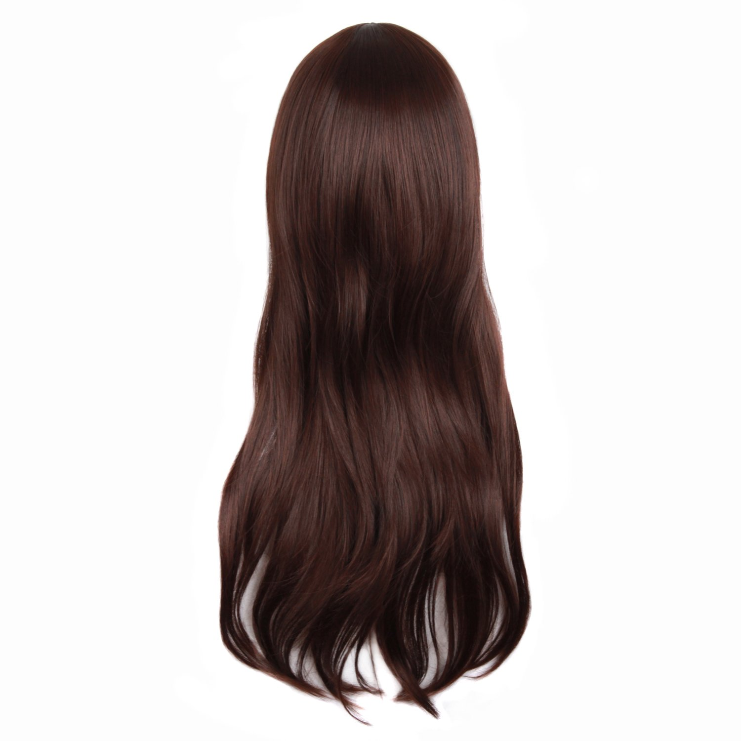 MapofBeauty 28 70cm Long Curly Hair Ends Costume Cosplay Wig Azure