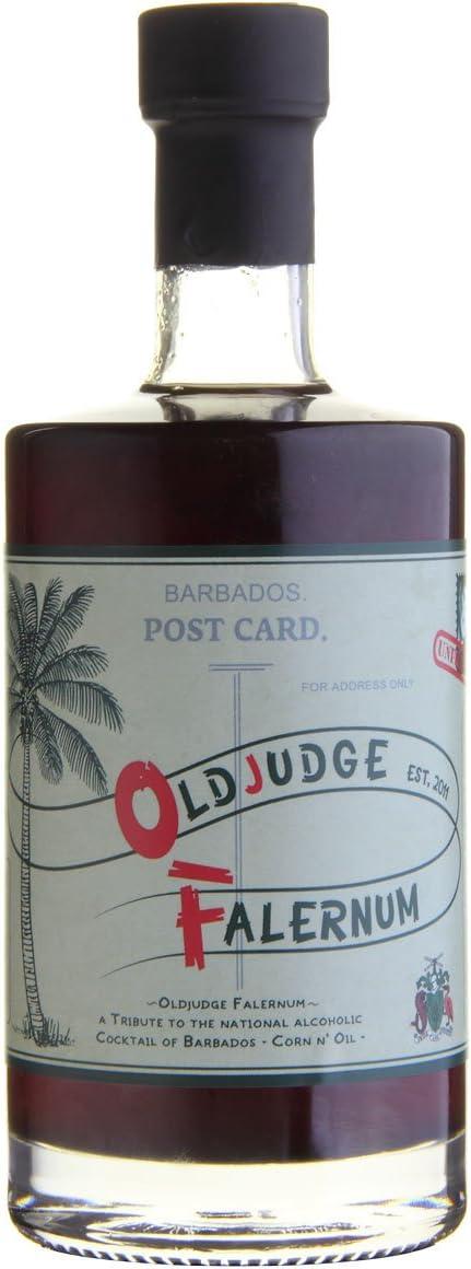 Old Judge Falernum Ron - 500 ml: Amazon.es: Alimentación y ...