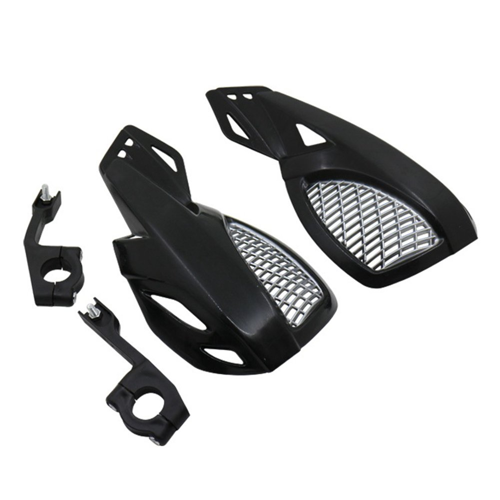 OUYAWEI 2 PCS Moto Dirt Bike Trottinette Guidon Prot/ège-Mains Prot/ège-Mains Black