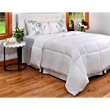 Queen Duvet Insert - All Season Queen Quilted Comforter with Corner Tabs- Duvet Comforter Hypoallergenic, Plush Siliconized Fiberfill - Down Alternative Comforter - Machine Washable